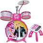 Bateria Infantil Barbie Pop Star - Fun