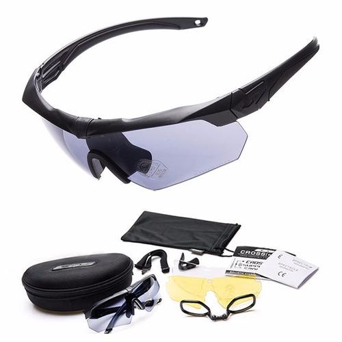 Óculos Tático Crossbow Tr90 Airsoft Militar - Frete Grátis. R  149.9 ee679212d3