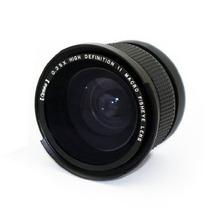 58mm Lente Fisheye Olho De Peixe Canon Xti T4i T2i T3i T5i
