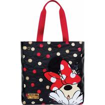 Bolsa Feminina Tote Bag Disney Minnie Tilibra
