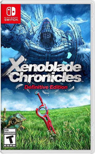 Xenoblade Chronicles  Definitive Edition Switch Mídia Física