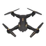 Drone Visuo Xs809s Con Câmera Hd Black