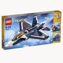Lego - Creator - Aviao Jato Azul - 31039