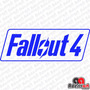 Adesivo Gamer Fallout 4 Ps Xbox Pc Notebook Decorativo Cores