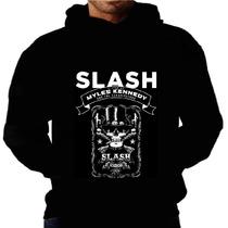 Blusa Moletom Slash Guns Rose Capuz Bolso Banda Moleton Frio