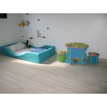 Cama De Espuma Com Colchão Para Quarto Montessori