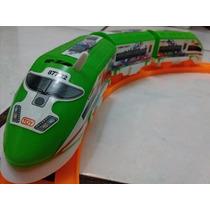 Trem Bala Elétrico Brinquedo Locomotiva Frete Grátis