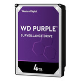 Disco Rígido Interno Western Digital Wd Purple Wd40purz 4tb Roxo