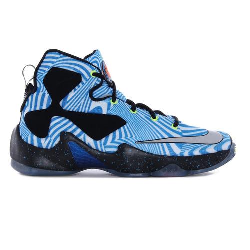 9b5079909a0 Tênis Basquete Nike Lebron 13 Xiii Gs Azul Branco Tam 36