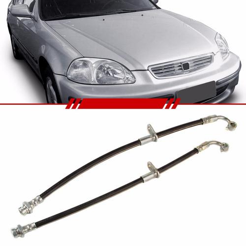 Flexível De Freio Dianteiro Honda Civic 2000 99 98 97 96