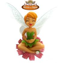 Boneca Tinkerbell Fada Na Flor Coleção Sininho Disney