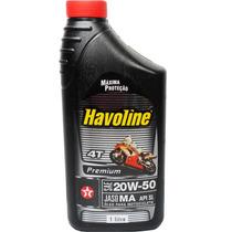 Oleo Havoline 20w50 Sl Para Moto Havoline Premium 4t
