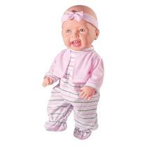 Boneca Meu Primeiro Aninho - Milk Brinquedos