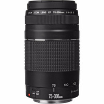 Lente Canon Ef 75-300mm F/4-5.6 Iii Tele Nota Garantia 1 Ano