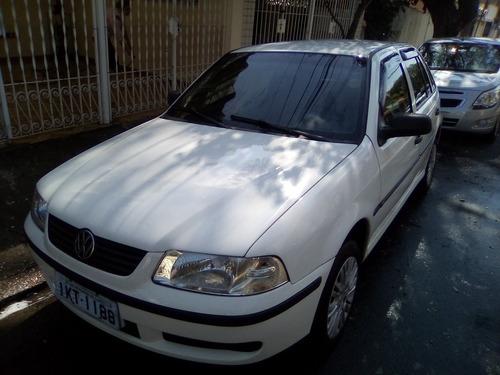VOLKSWAGEN GOL 16V 2002 - TRAVA + ALARME + RÁDIO