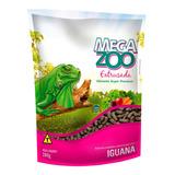 Ração Extrusada Megazoo Para Iguanas 280g