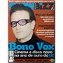 Revista Showbizz N° 4 Ano 15 Abril 2000 Ed 177 Bono Vox U2 Original