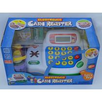 Caixa Registradora Infantil Com Luz E Som E Calculadora