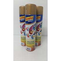 Tinta Spray Automotivo Seca Rápido - Dourado Metálico 400ml