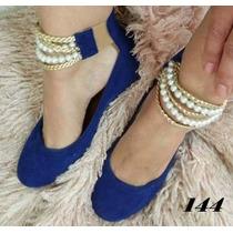 Sapatilha Lindo Modelo! Sapato Feminino- Moda Femina