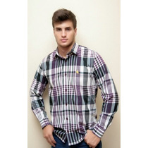 Camisa Social Masculina - Dortmund - Manga Longa - Xadrez