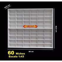 Estante Expositor (60) Lendas Automobilismo 1;43 - Chevrolet