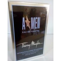 Perfume Angel Men Rubber 50 Ml Thierry Mugler Masculino Orig