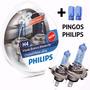 Lampada Philips Farol H4 Cristal Vision Super Branca Crystal