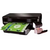 Impressora Hp 7110 A3 + Bulk Ink Elegance + Chips Full Reset