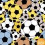 Papel De Parede Futebol Bola Esporte Soccer Gol Adesivo 3m