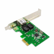 Placa Rede Pci-express Realtek 10/100/1000 1 Gbps Rtl8111c