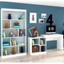 Conjunto Home Office Com Escrivaninha Multifuncional E Bh