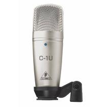 Microfone Condensador Usb C1u Behringer Frete Grátis