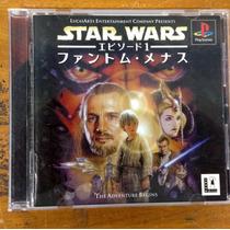 Cd Original De Play 1 Star Wars Episode 1 The Phanton Menace