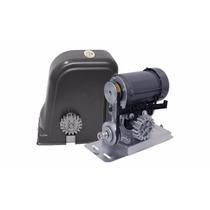 Kit Motor Portão Eletrônico Semi-industrial 1/3 De Correia
