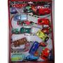 Kit 8 Carrinhos Fricção Carro 3 Relampago Mcqueen + Spinner