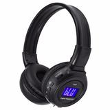 Fone Com Bluetooth Cartao Sd Fm Sem Fio Com Visor N65