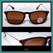Óculos De Sol Rb4187 Chris Fosco, Frete Grátis