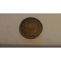 Moeda De Prata 2 Mil Reis 1911