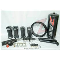 Kit Suspensão A Ar Blackz 04 Válvulas + Controle Corsa