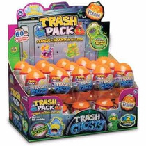 Trash Pack Série Ghosts Display C/ 30 Ovos E 60 Trashies