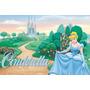 Painel Decorativo Festa Infantil Princesa Cinderella (mod3)