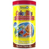 Ração Tetra Color Tropical Granules 300g Acara Disco