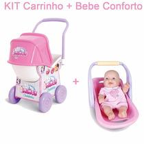 Bebê Conforto Mais Carrinho De Boneca Ninos - Cotiplás