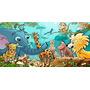 Painel Decorativo Festa Safari Zoo Animais [2x1m] (mod1)
