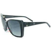 Óculos De Sol Ana Hickmann Ah9131n Preto Original Com Nfe