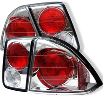 Lanterna Altezza Honda Civic 01/02/03/04/05/06 Cromada