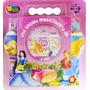 Super Kit Princesas Quebra-cabeça Gigante + Dvd Novo