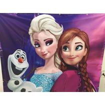 Painel Semi Brilho Frozen,minions Etc