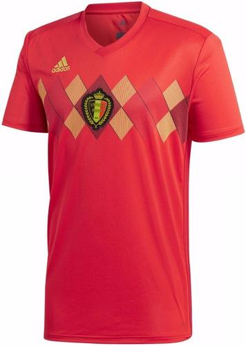 e532564df7 Camisa Seleção Da Bélgica - Uniforme 1 - 2018 - Frete Grátis